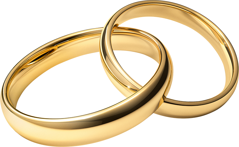 Gold Rings Clipart